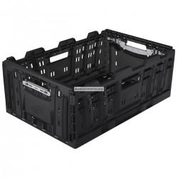 Caja plegable negro 60 x 40 x 23