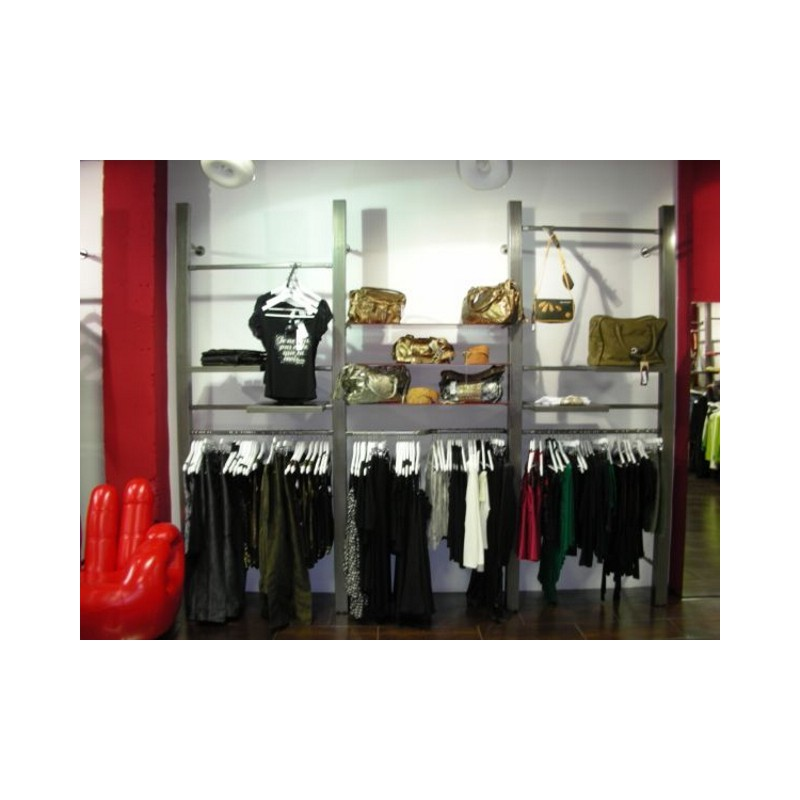 Estanterias tienda ropa - Estanteria para ropa ...