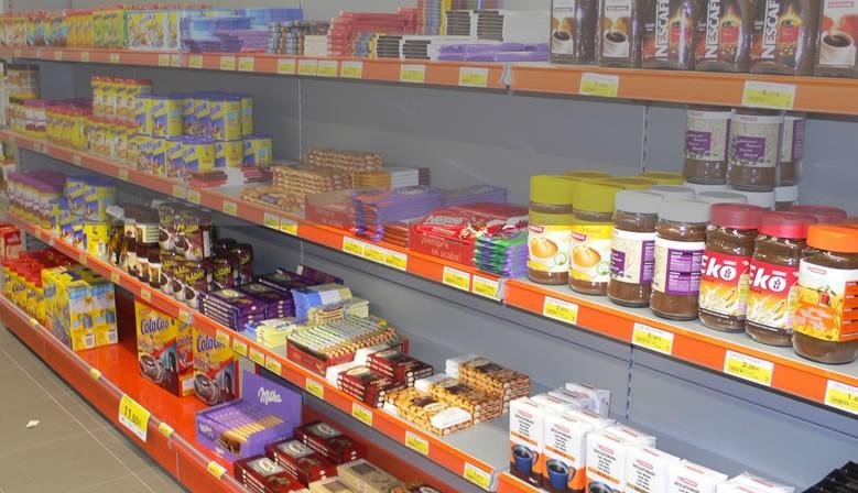 Estanterias almacen supermercados