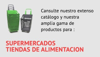 Catálogo de estanterias y accesorios para superemercados y tiendas de alimentacion