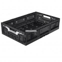 Caja plegable negro 60 x 40 x 14,5