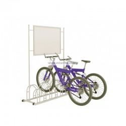 Soporte/Parking bicicletas con marco