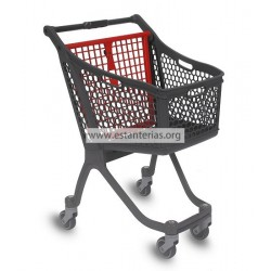 Carro Plastico 75 litros