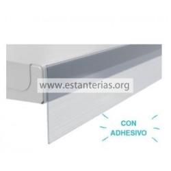 Perfil Adhesivo transparente