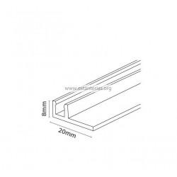 Rail para colocar separadores