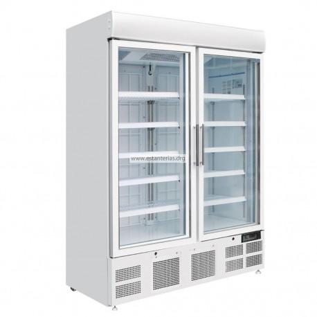 Vitrina Congelador vertical dos puertas