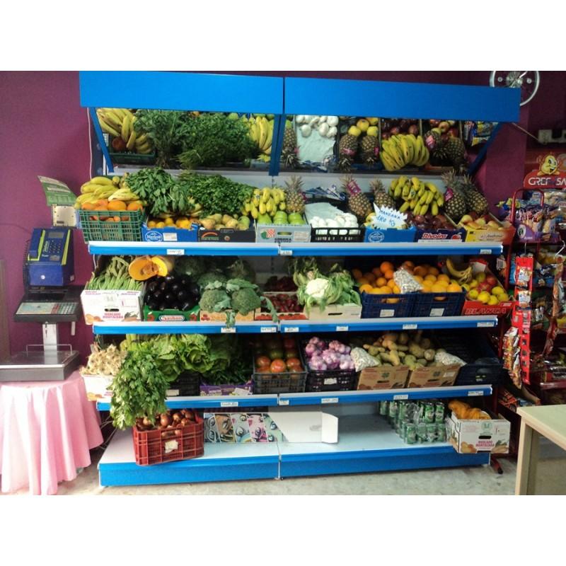 Estanterias de madera para fruteria com estanterias - Estanterias para fruta ...