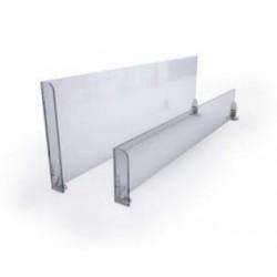 Separador estante con tope izquierdo