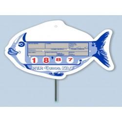 Portaprecios pescaderia