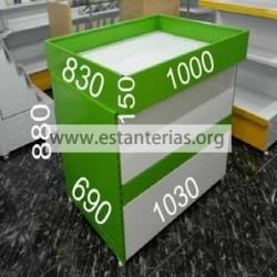 Mesa expositora oferta/multiusos