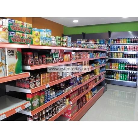 Estanteria supermercado
